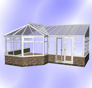 DIY P Shaped Conservatory
